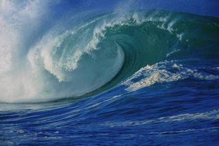 Wave for blog
